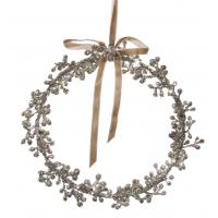 Glitter berry ring silver 19cm
