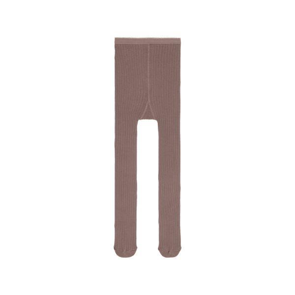 Eganja ribbestrikket strømpebukse mini