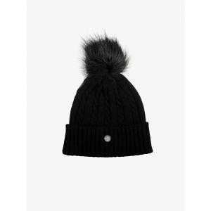 PS Of Sweden Samantha, Knitted Hat, Svart