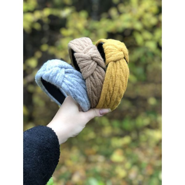 Hårbøyle strikket