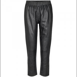 Shiloh Crop Leather Pant