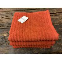 Classic stripe håndkle Rust 70x140