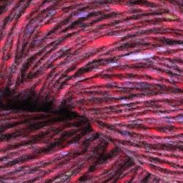 Isager Tweed - Wine