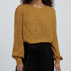 Lima Gold Spot Blouse