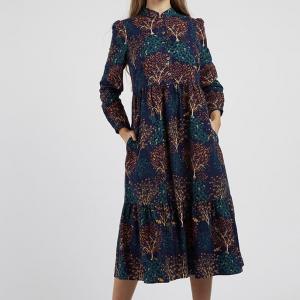 Macha Trees Midi Dress