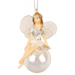 Ballerina alv m/kule sølv