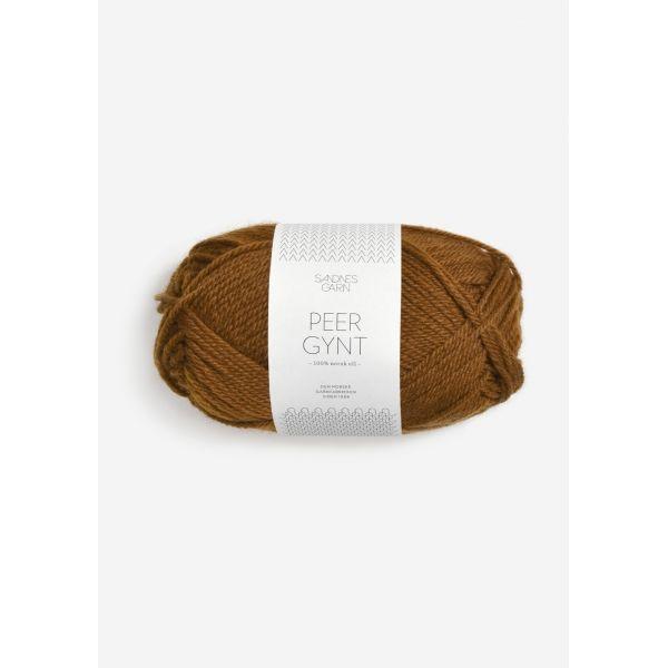 Peer Gynt 2564 Gyllenbrun - Sandnes Garn