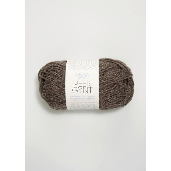 Peer Gynt 2652 Mellombrun Melert - Sandnes Garn