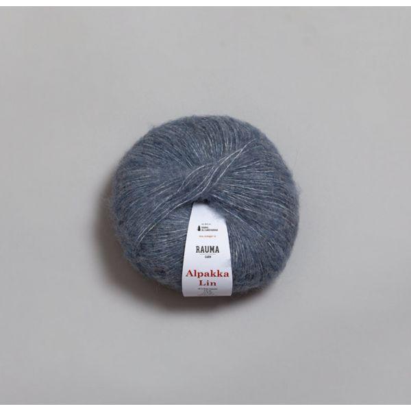Rauma Alpakka Lin - 6555 - Jeansblå