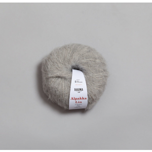 Rauma Alpakka Lin - 1310 Lys grå