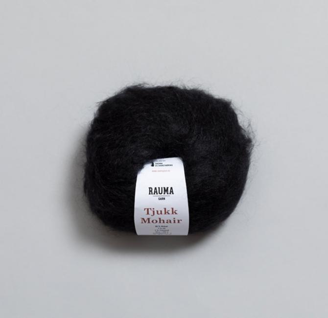 Tjukk Mohair 081 Sot - Rauma Garn