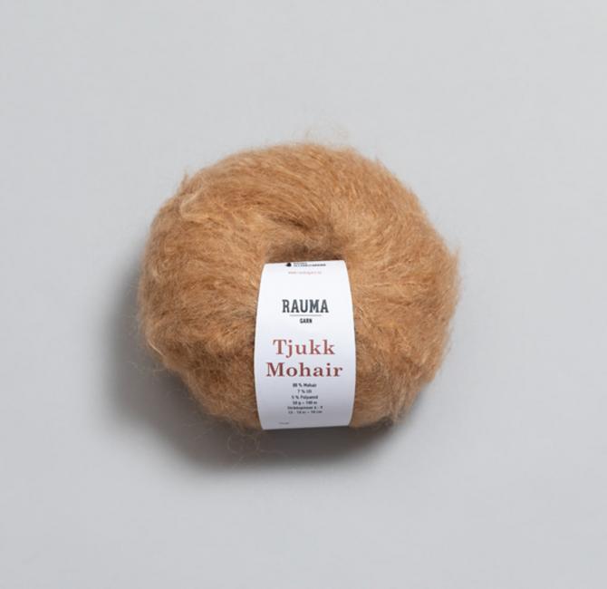 Tjukk Mohair 149 Kamel - Rauma Garn