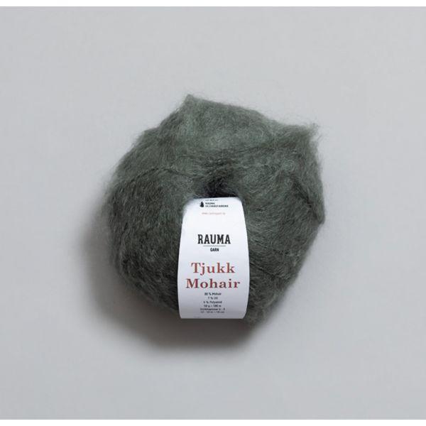 Tjukk Mohair 243 Vintermose - Rauma Garn