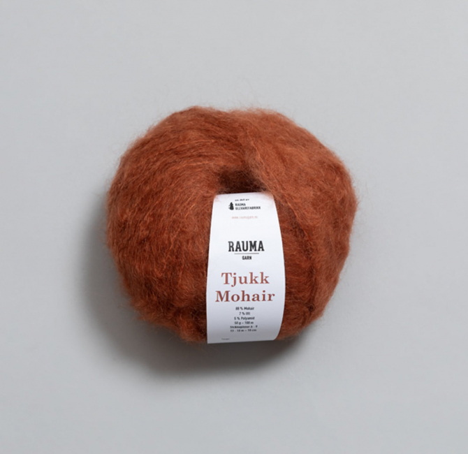 Tjukk Mohair 305 Høstløv - Rauma Garn