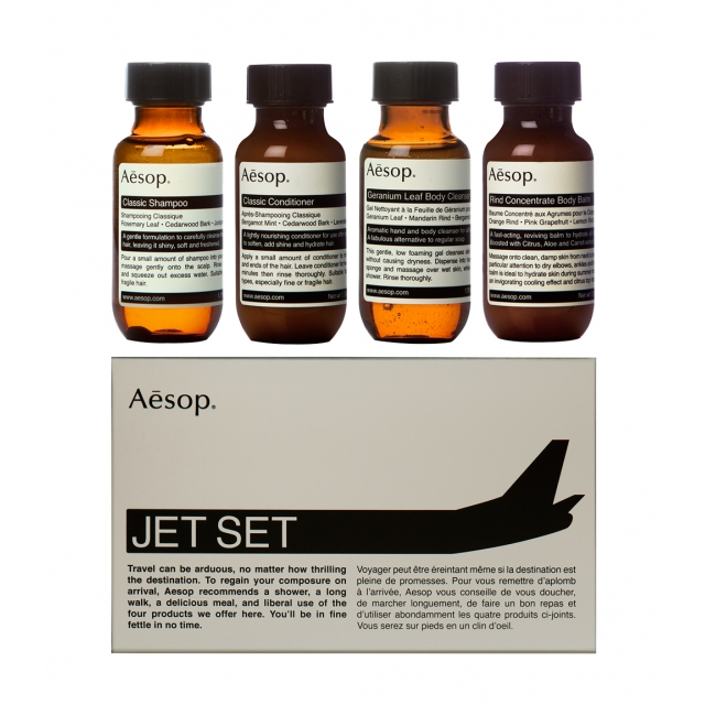 JET SET  KIT 4X50ML