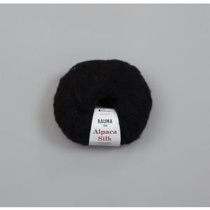 Rauma Alpaca Silk - 5014 Sort