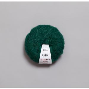 Rauma Alpaca Silk - 0961 Mørk Grønn