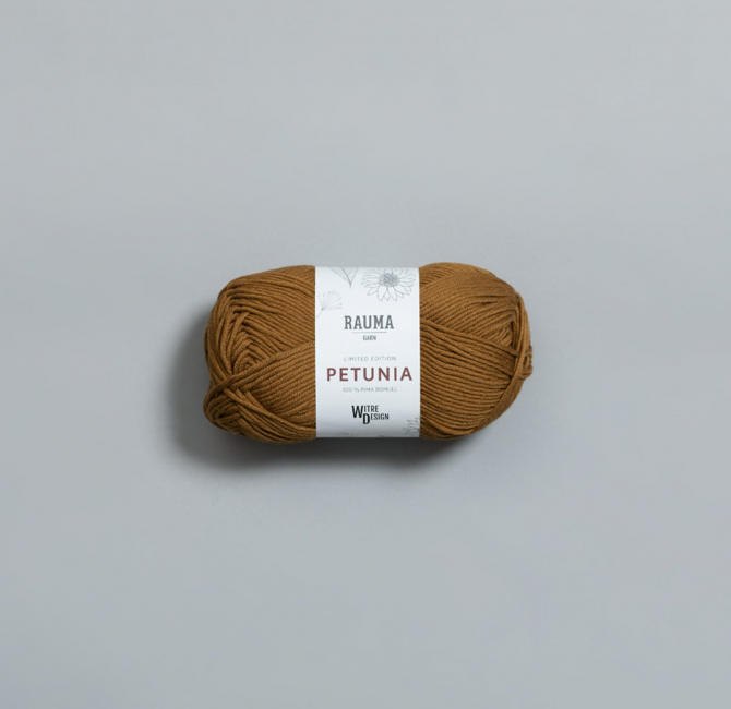 Petunia 320 Olivenolje - Rauma Garn