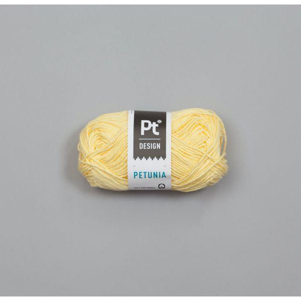 Petunia 205 Lys Gul - Rauma Garn