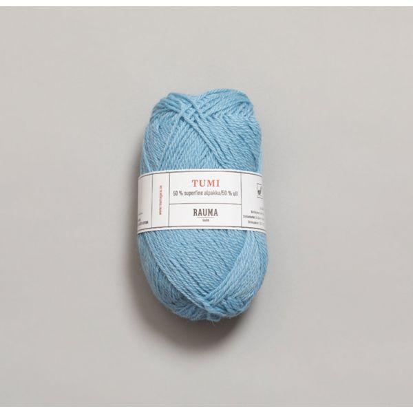 Tumi 0055 Himmelblå - Rauma Garn