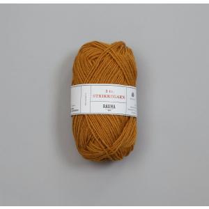 Rauma 3-tråds strikkegarn - 146 Oker