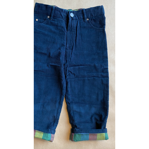 Cord jeans - Navy
