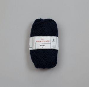 Rauma 3-tråds strikkegarn - 159 Marineblå