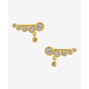 Snowy Croissoint, earrings