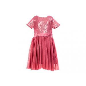 Salto Princess kjole paljetter kort arm 2-8 år