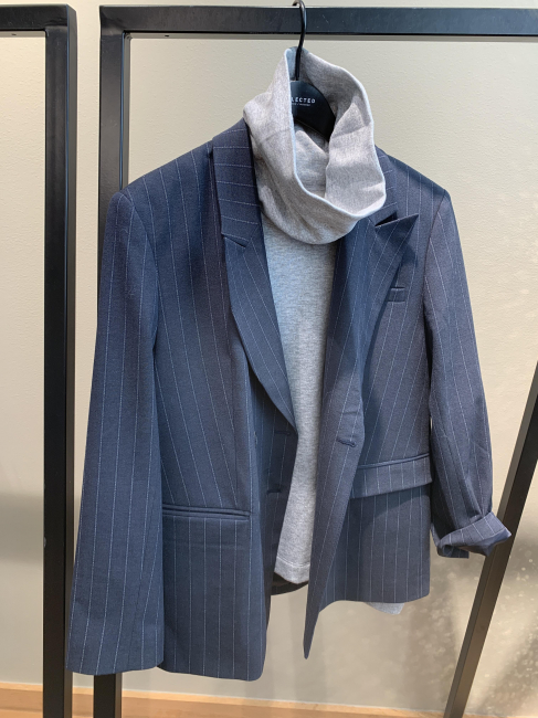 Sigrid Relaxed Double Blazer
