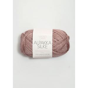Alpakka Silke - Gammelrosa 4331 - Sandnes Garn