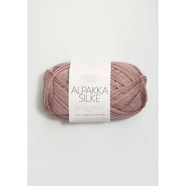 Alpakka Silke - 4331 Gammelrosa - Sandnes Garn