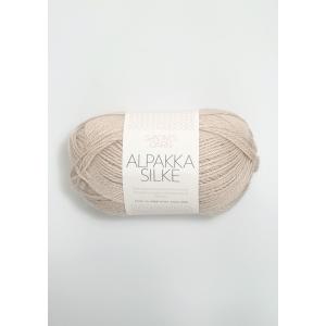 Alpakka Silke - Sand 2521 - Sandnes Garn