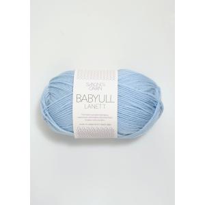 Babyull Lanett - 5930 Lys Blå - Sandnes Garn