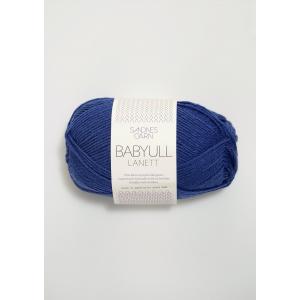 Babyull Lanett - 5846 Blåviolett - Sandnes Garn