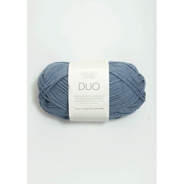 Duo 6033 Jeansblå  - Sandnes Garn