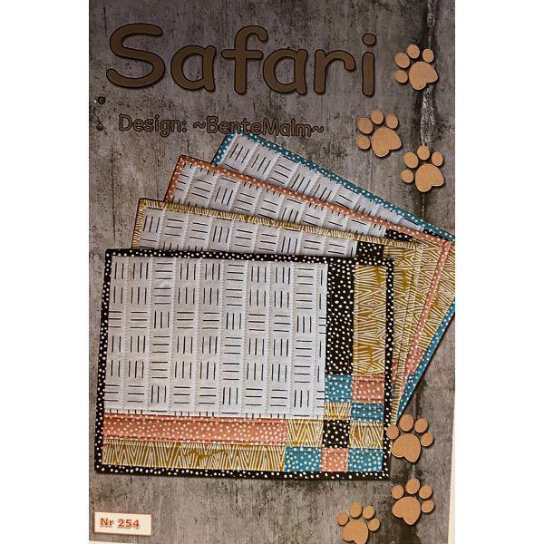 Materialpakke - Safari 4 spisebrikker