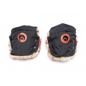 EASYGROW - MINI MUFFS BASIC BLACK MELANGE