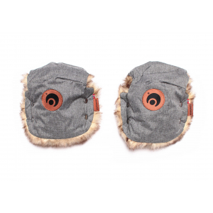 EASYGROW - MINI MUFFS BASIC GREY MELANGE