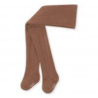 Pointelle Stockings - Choco Bean