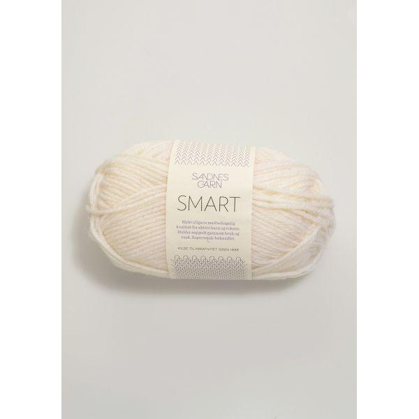 Smart 1001 Hvit - Sandnes Garn