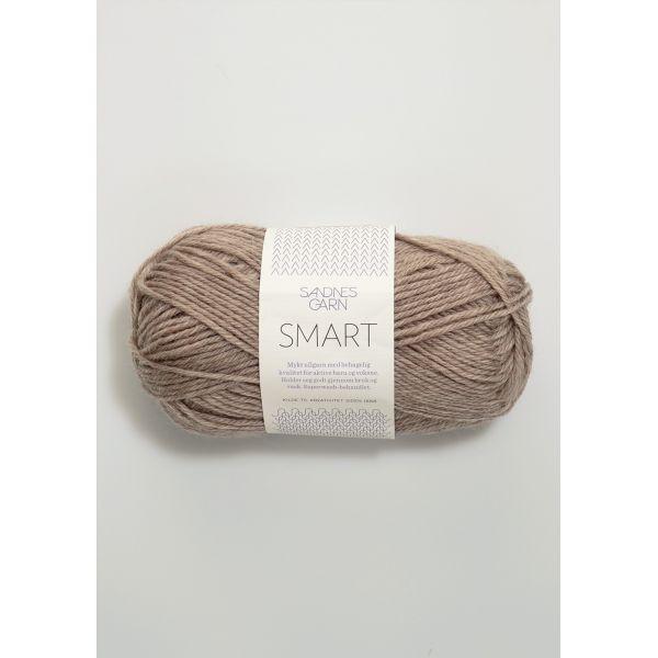 Smart 2650 Gråbeige Melert - Sandnes Garn