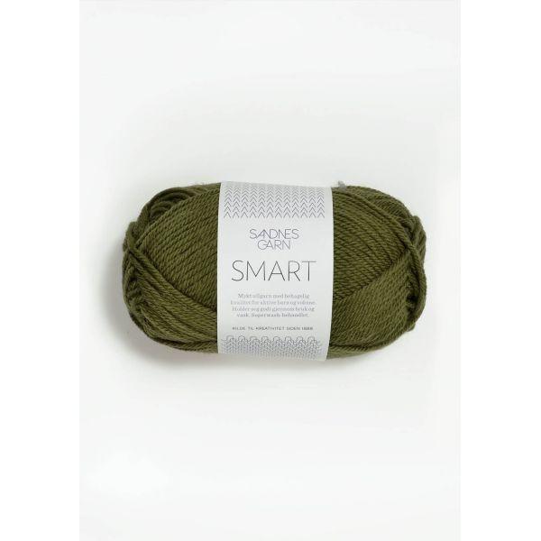 Smart 9553 Olivengrønn - Sandnes Garn