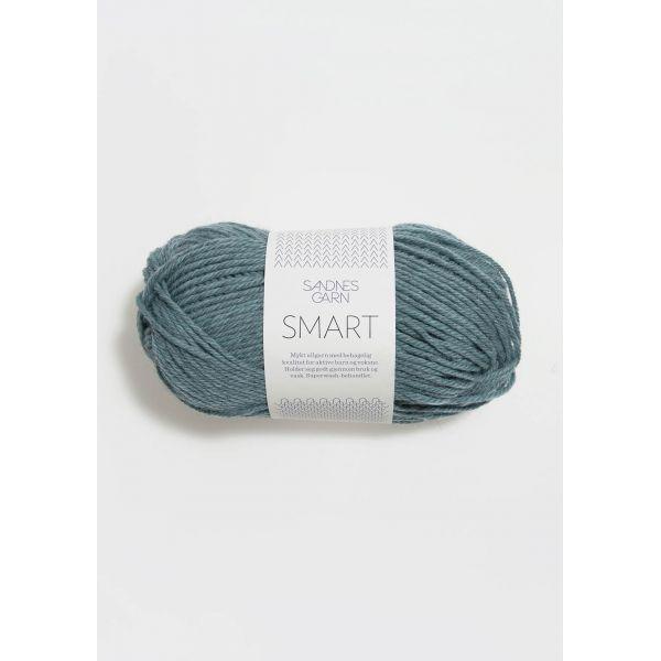 Smart 7252 Sjøgrønn Melert - Sandnes Garn