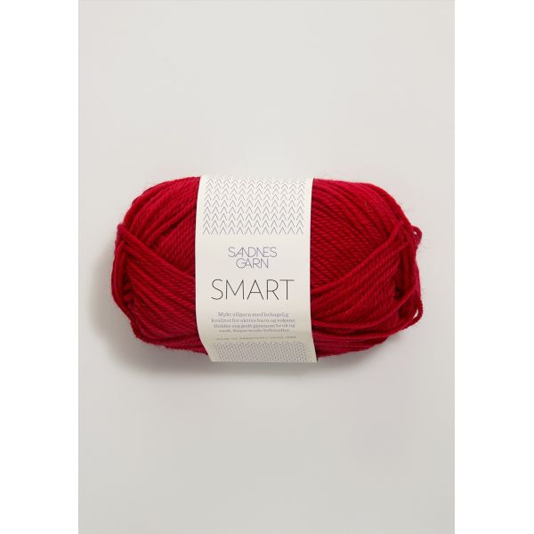 Smart 4219 Rød - Sandnes Garn