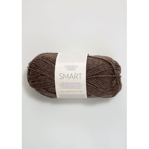 Smart 2652 Mellombrun Melert - Sandnes Garn