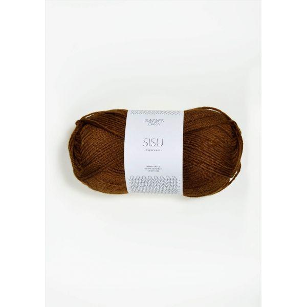 Sisu 2564 Gyllenbrun - Sandnes Garn