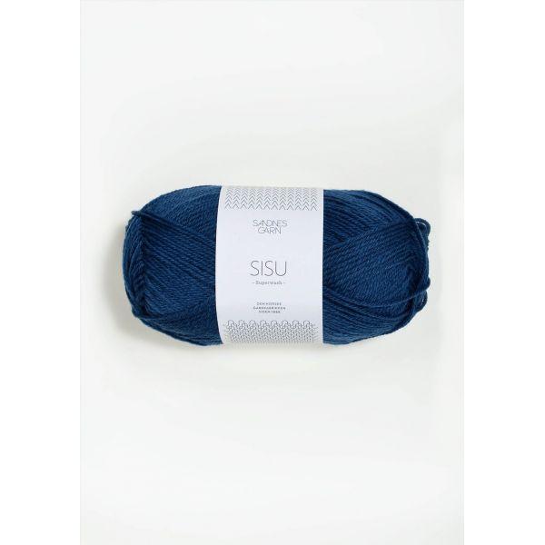 Sisu 6063 Inkblå  - Sandnes Garn