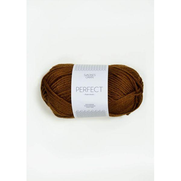 Perfect 2564 Gyllenbrun - Sandnes Garn
