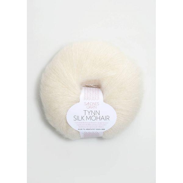 Tynn Silk Mohair 1012 Natur - Sandnes Garn